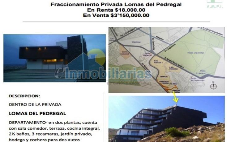 Foto de departamento en venta en  , lomas del pedregal, san luis potosí, san luis potosí, 1494423 No. 02