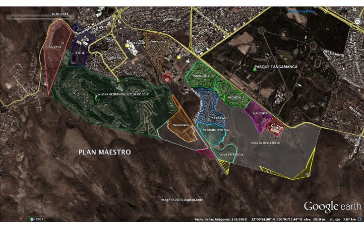 Foto de terreno comercial en venta en  , lomas del pedregal, san luis potosí, san luis potosí, 943635 No. 01