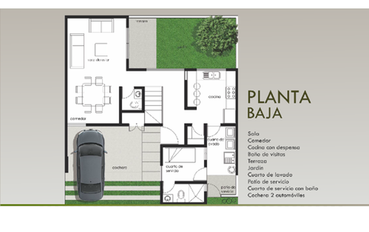 Foto de casa en venta en  , lomas del pedregal, san luis potosí, san luis potosí, 946453 No. 03