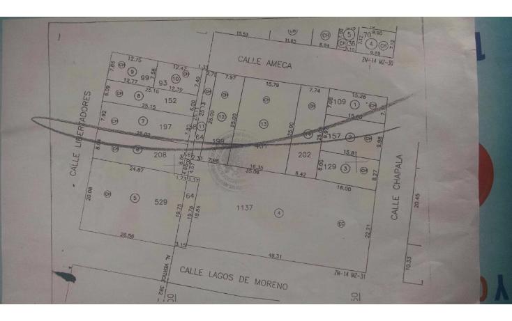 Foto de terreno habitacional en venta en  , lomas del refugio, zapopan, jalisco, 1556944 No. 06