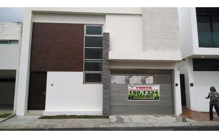 Foto de casa en venta en  , lomas del sol, alvarado, veracruz de ignacio de la llave, 1636690 No. 01