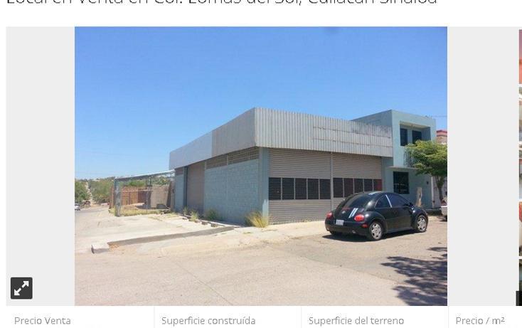 Foto de local en venta en  , lomas del sol, culiacán, sinaloa, 1406367 No. 01
