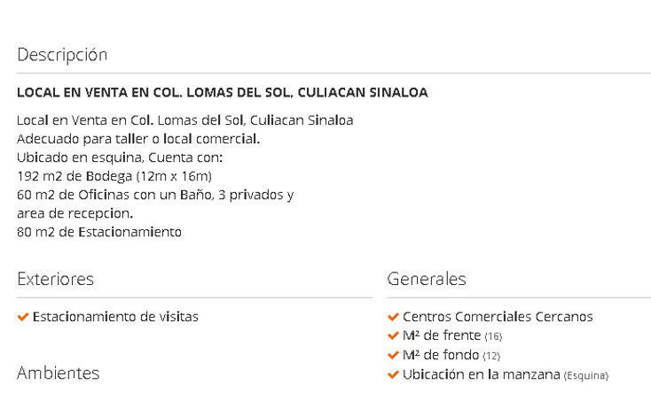Foto de local en venta en  , lomas del sol, culiacán, sinaloa, 1406367 No. 10