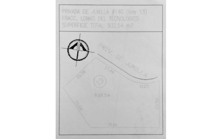 Foto de terreno habitacional en venta en  , lomas del tecnológico, san luis potosí, san luis potosí, 1112821 No. 04