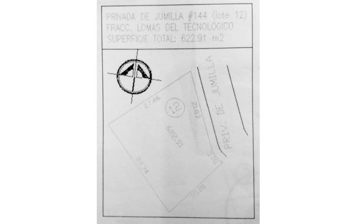 Foto de terreno habitacional en venta en  , lomas del tecnológico, san luis potosí, san luis potosí, 1286009 No. 04