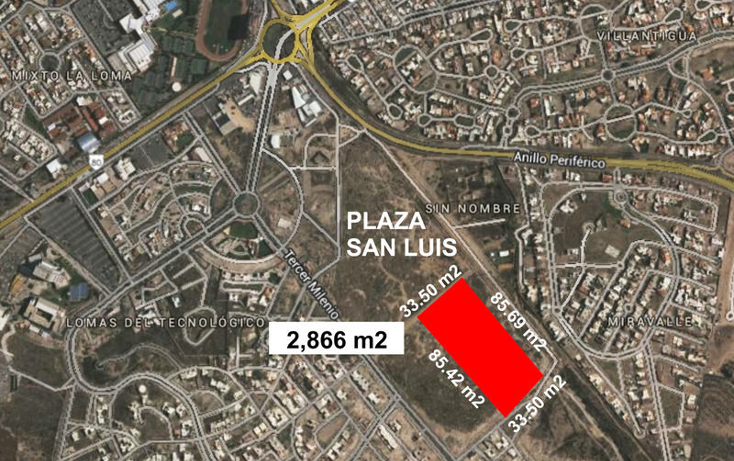 Foto de terreno habitacional en renta en  , lomas del tecnológico, san luis potosí, san luis potosí, 1612428 No. 01