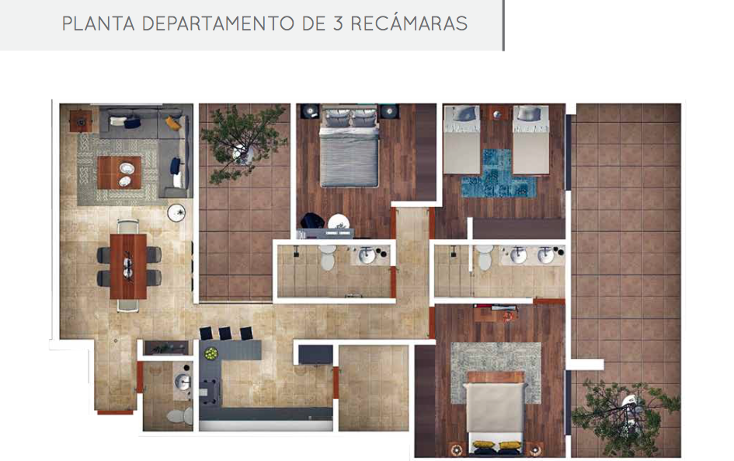 Foto de departamento en venta en  , lomas del tecnológico, san luis potosí, san luis potosí, 1617246 No. 07