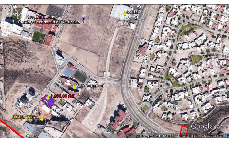 Foto de terreno habitacional en venta en  , lomas del tecnológico, san luis potosí, san luis potosí, 944187 No. 02