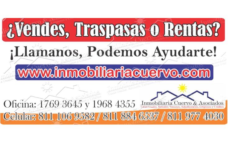 Foto de casa en venta en  , lomas i, general escobedo, nuevo le?n, 1864518 No. 01