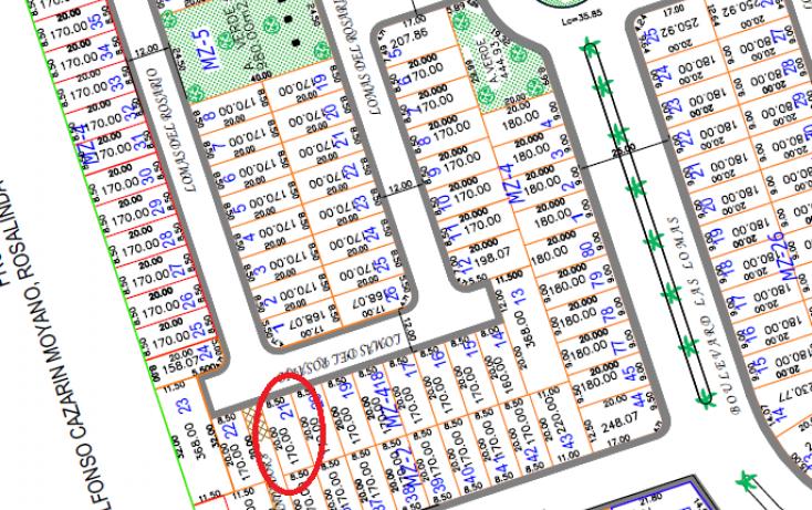 Foto de terreno habitacional en venta en, lomas residencial, alvarado, veracruz, 1108057 no 03