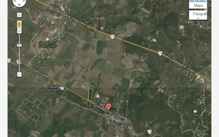 Foto de terreno industrial en venta en lopez mateos 173, santa cruz del astillero, el arenal, jalisco, 1981502 no 07