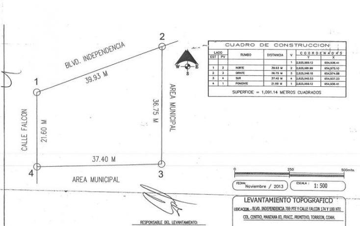 Foto de terreno comercial en venta en, los ángeles, torreón, coahuila de zaragoza, 1230653 no 05