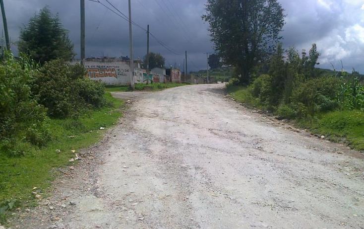 Foto de terreno habitacional en venta en  , los arana, villa del carbón, méxico, 1526984 No. 07