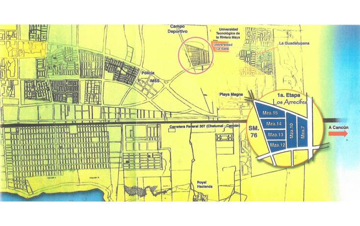 Foto de terreno habitacional en venta en, los arrecifes, solidaridad, quintana roo, 594401 no 01