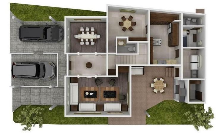 Foto de casa en venta en  , los cenizos, santa catarina, nuevo le?n, 1051223 No. 02