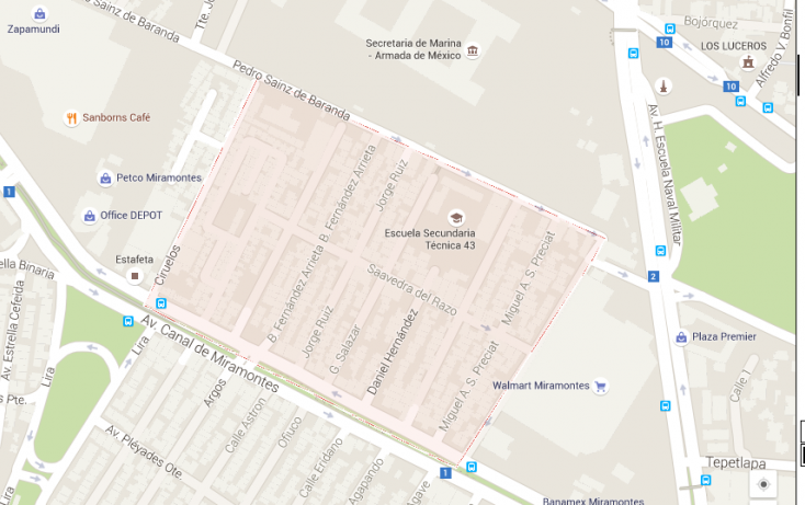 Foto de terreno habitacional en venta en, los cipreses, coyoacán, df, 2043139 no 01