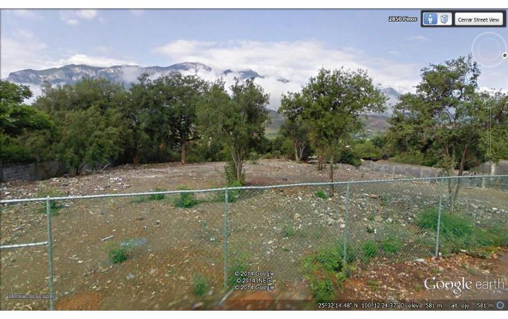 Foto de terreno habitacional en venta en  , los cristales, monterrey, nuevo león, 1278625 No. 01