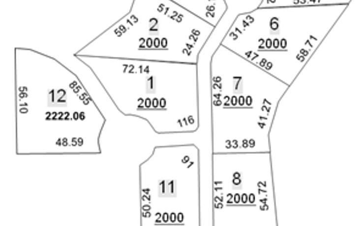 Foto de terreno habitacional en venta en  , los cristales, monterrey, nuevo león, 452063 No. 01