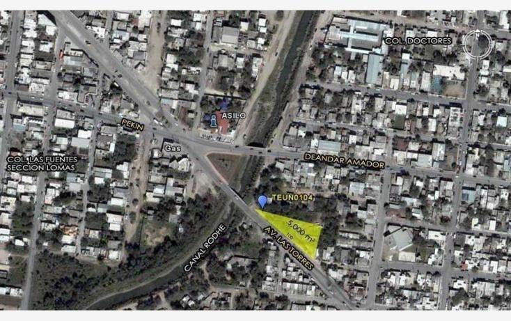 Foto de terreno comercial en renta en avenida las torres , los doctores, reynosa, tamaulipas, 1529594 No. 01