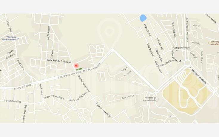 Foto de terreno habitacional en venta en  , los encinos, morelia, michoacán de ocampo, 1634744 No. 03