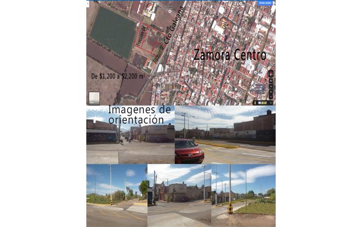 Foto de terreno comercial en venta en  , los espinos, zamora, michoacán de ocampo, 1823590 No. 01
