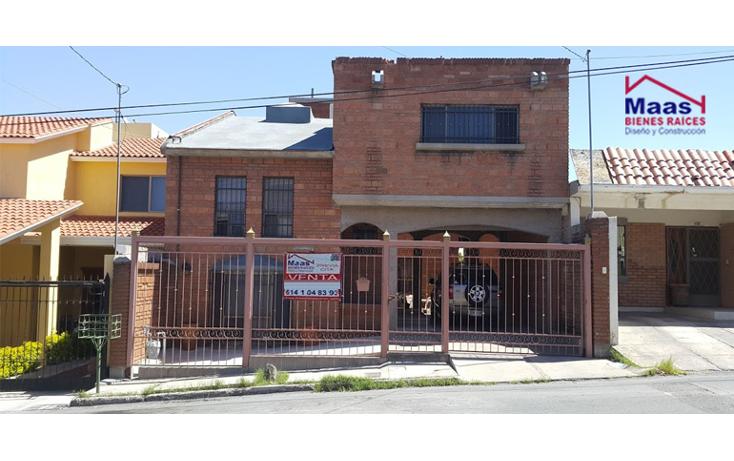 Foto de casa en venta en  , los frailes, chihuahua, chihuahua, 1737678 No. 01