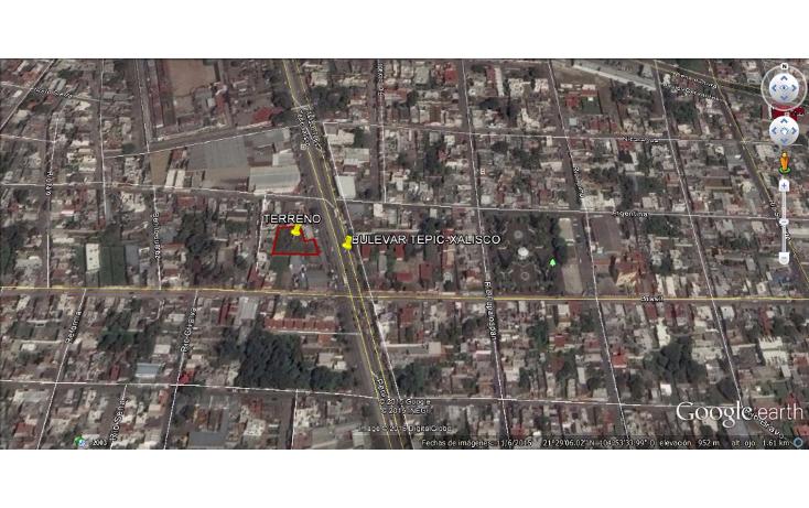 Foto de terreno habitacional en renta en  , los fresnos oriente, tepic, nayarit, 1526263 No. 06