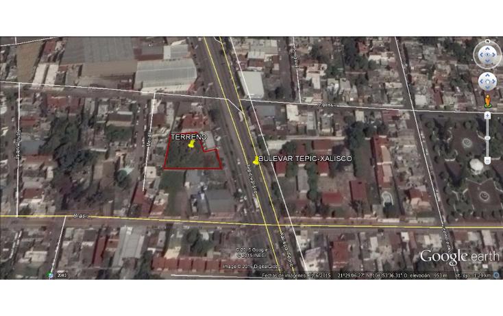 Foto de terreno habitacional en renta en  , los fresnos oriente, tepic, nayarit, 1526263 No. 07