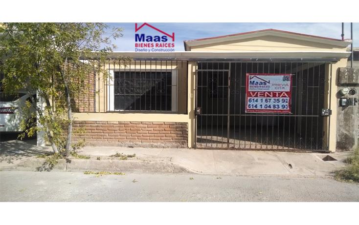 Foto de casa en venta en  , los girasoles i, chihuahua, chihuahua, 1663736 No. 01