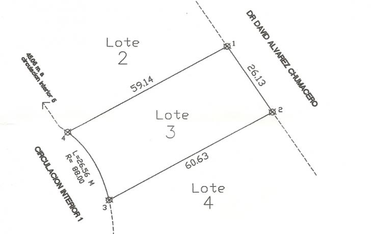 Foto de terreno habitacional en venta en, los nogales, chihuahua, chihuahua, 1297083 no 03