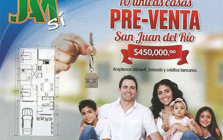 Foto de casa en condominio en venta en, los nogales, san juan del río, querétaro, 2042214 no 01