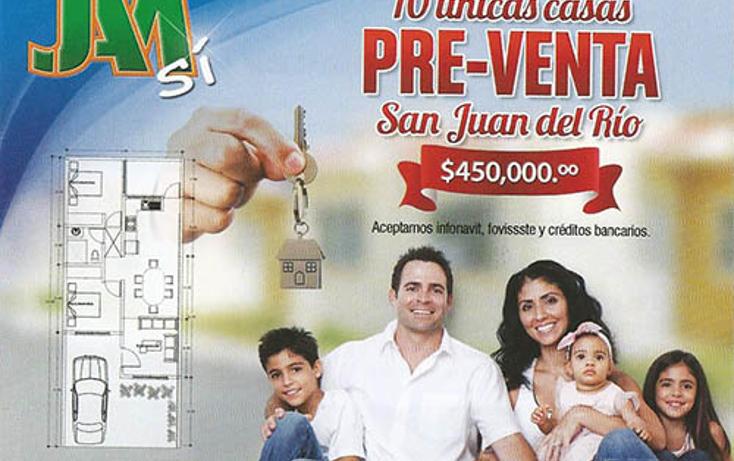 Foto de casa en venta en  , los nogales, san juan del río, querétaro, 2042214 No. 01