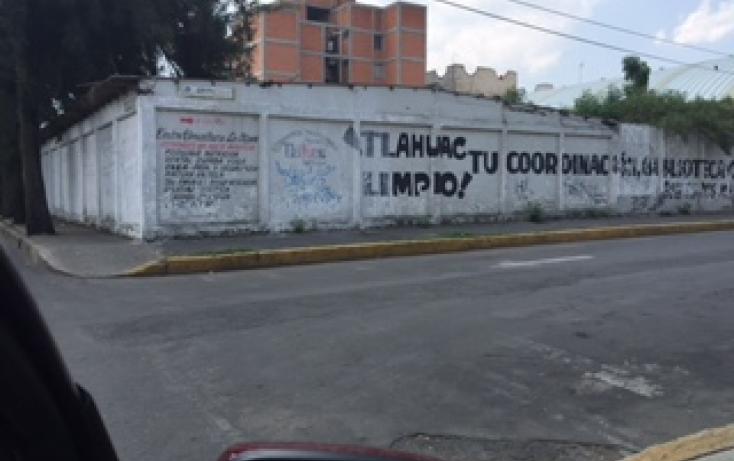 Foto de terreno habitacional en venta en, los olivos, tláhuac, df, 1080117 no 01