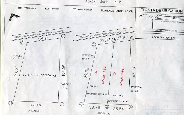 Foto de terreno habitacional en venta en  , los palmitos, cadereyta jiménez, nuevo león, 1399917 No. 01