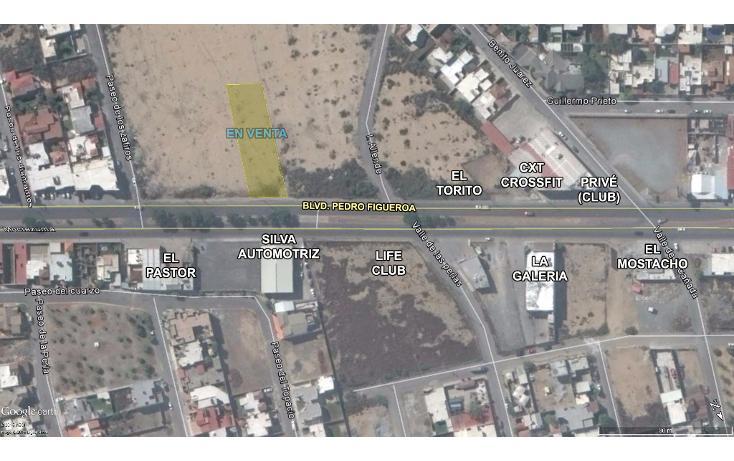 Foto de terreno comercial en venta en  , los pinos 1er sector, saltillo, coahuila de zaragoza, 1636424 No. 05
