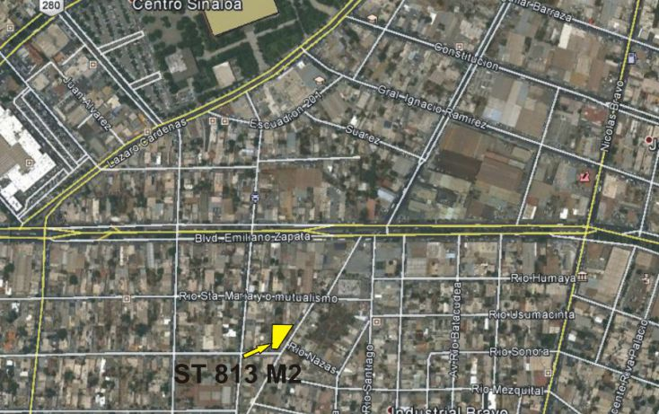 Foto de terreno habitacional en venta en, los pinos, culiacán, sinaloa, 1286157 no 02