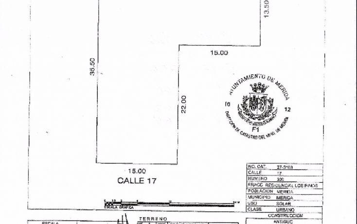 Foto de terreno comercial en venta en, los pinos, mérida, yucatán, 1969324 no 05
