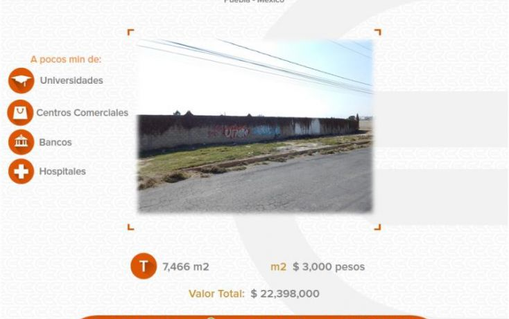 Foto de terreno comercial en venta en, los pinos, san pedro cholula, puebla, 1213941 no 01
