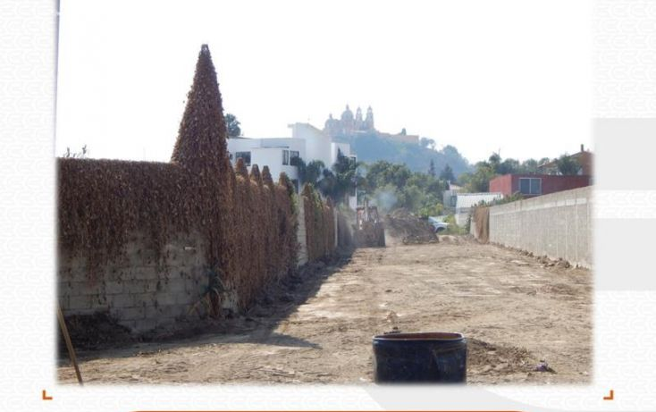Foto de terreno comercial en venta en, los pinos, san pedro cholula, puebla, 1213941 no 06