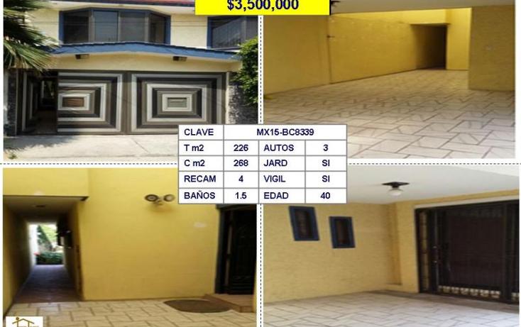 Foto de casa en venta en  , los pirules, tlalnepantla de baz, méxico, 1150851 No. 01