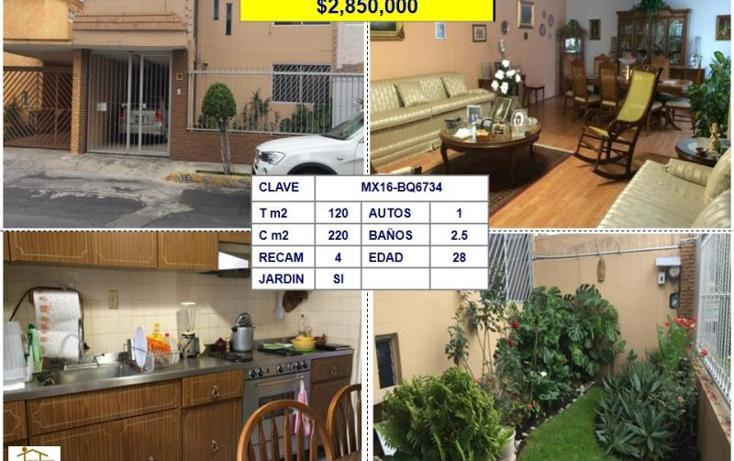 Foto de casa en venta en  , los pirules, tlalnepantla de baz, méxico, 1702666 No. 01