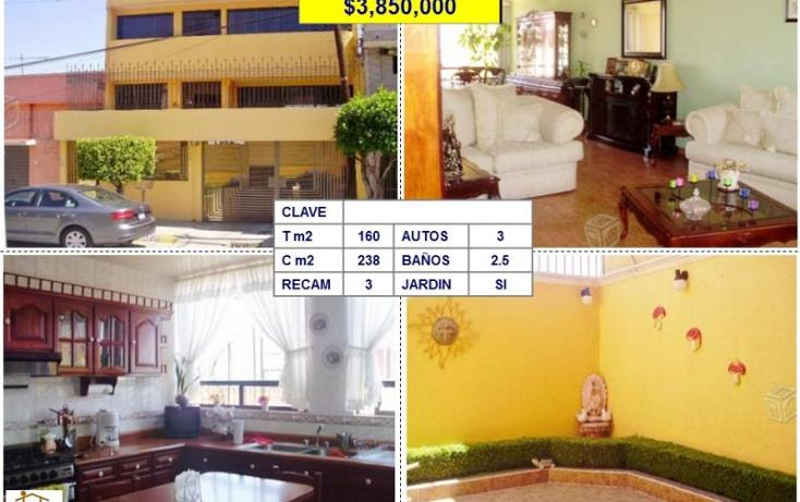 Foto de casa en venta en  , los pirules, tlalnepantla de baz, méxico, 1705206 No. 01