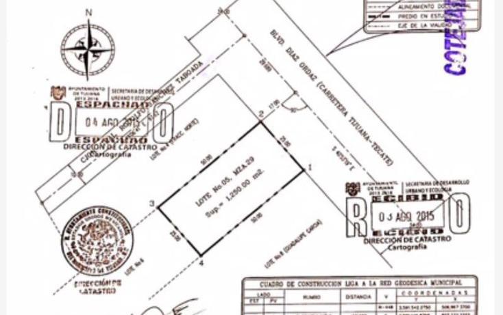 Foto de terreno comercial en venta en  , los reyes, tijuana, baja california, 1616182 No. 02