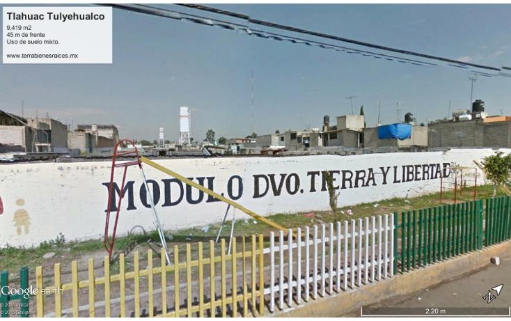Foto de terreno comercial en venta en  , los reyes, tl?huac, distrito federal, 1281435 No. 03