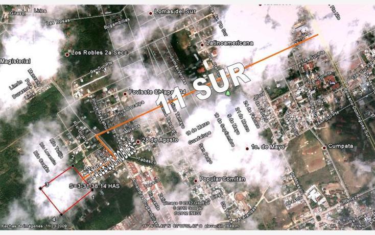 Foto de terreno habitacional en venta en  , los robles, comitán de domínguez, chiapas, 1455957 No. 15