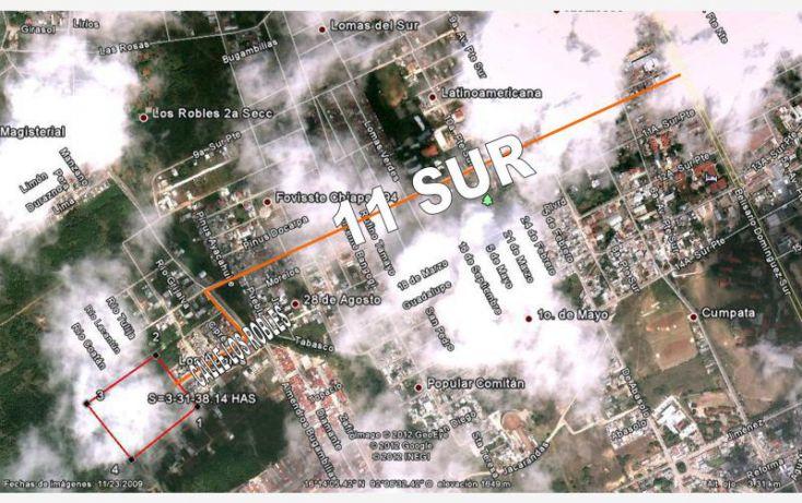 Foto de terreno habitacional en venta en los robles, los robles, comitán de domínguez, chiapas, 1455957 no 15