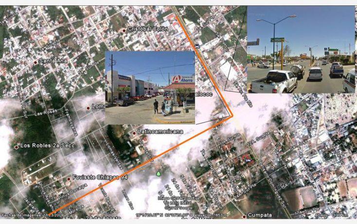 Foto de terreno habitacional en venta en los robles, los robles, comitán de domínguez, chiapas, 1455957 no 16