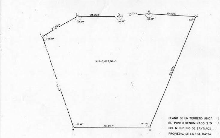 Foto de terreno habitacional en venta en  , los rodriguez, santiago, nuevo león, 1571058 No. 04