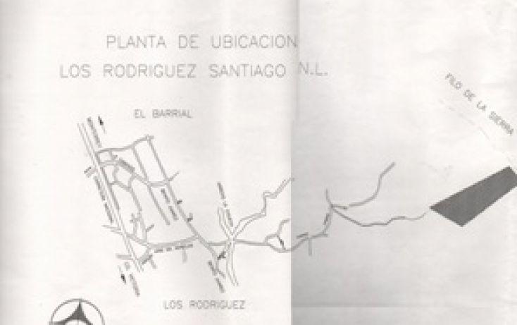 Foto de terreno habitacional en venta en, los rodriguez, santiago, nuevo león, 1789761 no 01