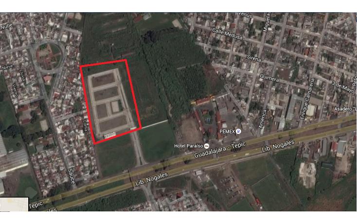 Foto de terreno habitacional en venta en  , los sauces, tepic, nayarit, 1611126 No. 19